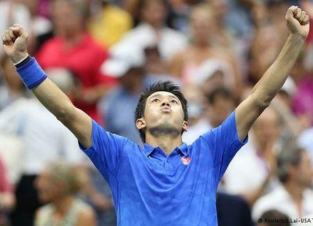 Kei Nishikori nguoc dong danh bai Andy Murray day kich tinh - Anh 1
