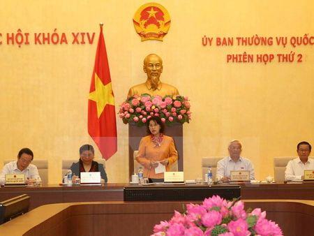 Nghi quyet ve chuong trinh giam sat cua Uy ban Thuong vu Quoc hoi - Anh 1