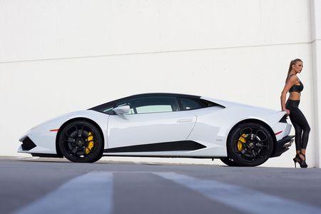 Quy co sexy 'thuan hoa' sieu bo Lamborghini Huracan - Anh 10