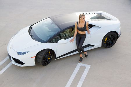 Quy co sexy 'thuan hoa' sieu bo Lamborghini Huracan - Anh 12