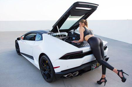 Quy co sexy 'thuan hoa' sieu bo Lamborghini Huracan - Anh 13
