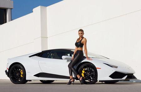 Quy co sexy 'thuan hoa' sieu bo Lamborghini Huracan - Anh 1