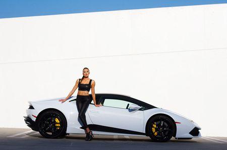 Quy co sexy 'thuan hoa' sieu bo Lamborghini Huracan - Anh 7