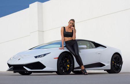 Quy co sexy 'thuan hoa' sieu bo Lamborghini Huracan - Anh 8