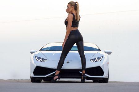 Quy co sexy 'thuan hoa' sieu bo Lamborghini Huracan - Anh 9