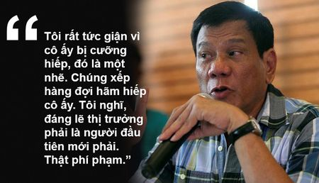 11 phat ngon 'cho bua' gay soc cua Tong thong Philippines - Anh 7