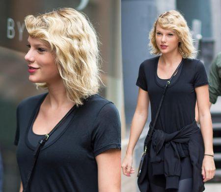 Taylor Swift vui ve ra mat sau chia tay ban trai - Anh 5