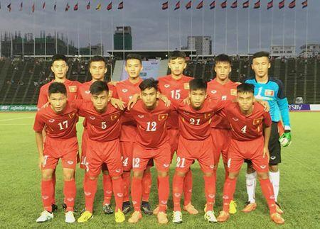 U16 Viet Nam chot quan du VCK U16 chau A 2016 - Anh 1