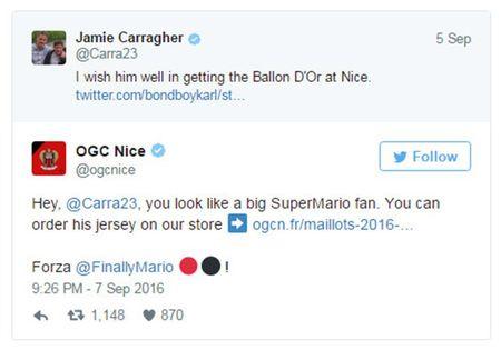 Carragher 'cung hong' khi Nice dung ra bao ve Balotelli - Anh 1