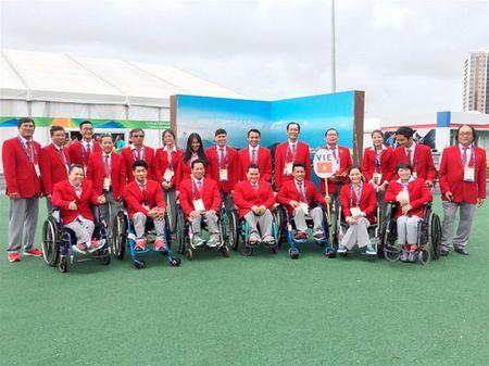 Anh an tuong cua doan TTVN tai khai mac Paralympic Rio 2016 - Anh 8