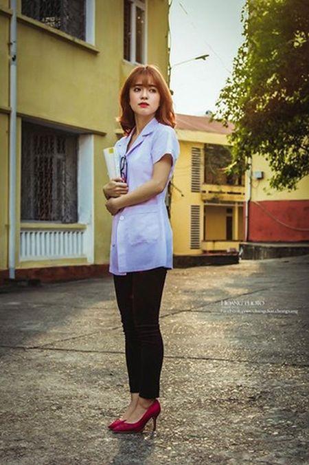 Nu sinh Y duoc Thai Nguyen xinh dep tua gai lai Tay - Anh 8