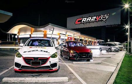 "Mazda 2 do ""sieu doc, sieu dep"" cua dan choi Thai Lan - Anh 3"