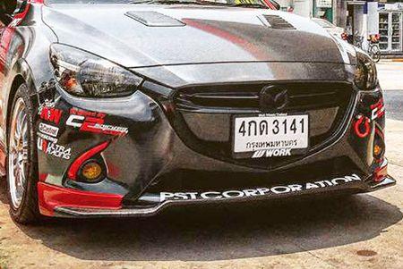 "Mazda 2 do ""sieu doc, sieu dep"" cua dan choi Thai Lan - Anh 6"
