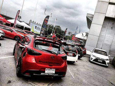 "Mazda 2 do ""sieu doc, sieu dep"" cua dan choi Thai Lan - Anh 8"