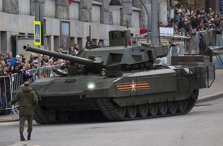 Nga mua 100 sieu tang T-14 Armata, NATO hoang hon - Anh 1