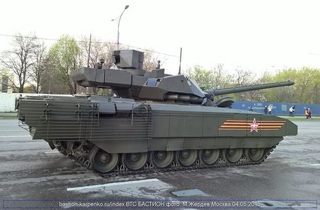 Nga mua 100 sieu tang T-14 Armata, NATO hoang hon - Anh 2