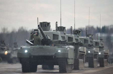 Nga mua 100 sieu tang T-14 Armata, NATO hoang hon - Anh 3