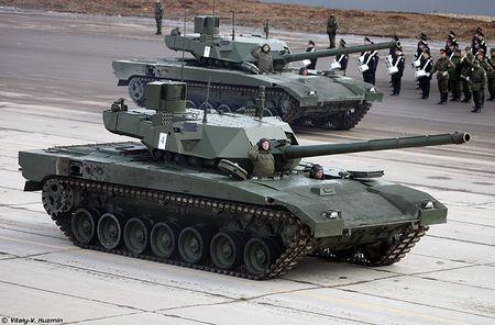 Nga mua 100 sieu tang T-14 Armata, NATO hoang hon - Anh 8