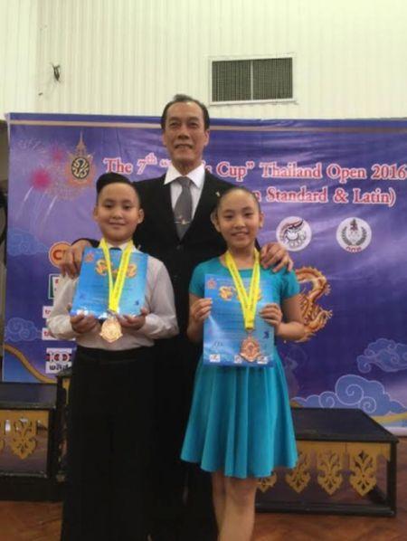 Cap doi tai nang Gia Linh, Gia Bao gat hai thanh cong khi tham gia Cup Nha vua tai Thai Lan - Anh 1