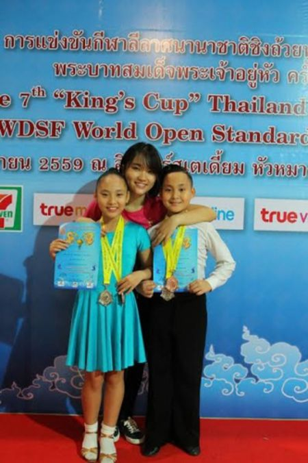 Cap doi tai nang Gia Linh, Gia Bao gat hai thanh cong khi tham gia Cup Nha vua tai Thai Lan - Anh 4