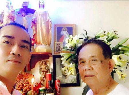 Suc khoe tien trien tot, gia dinh Minh Thuan gui loi cam on - Anh 1