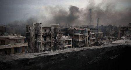 Xung dot Syria: 'Chang phai chong IS, ma la cuoc chien dau khi' - Anh 1