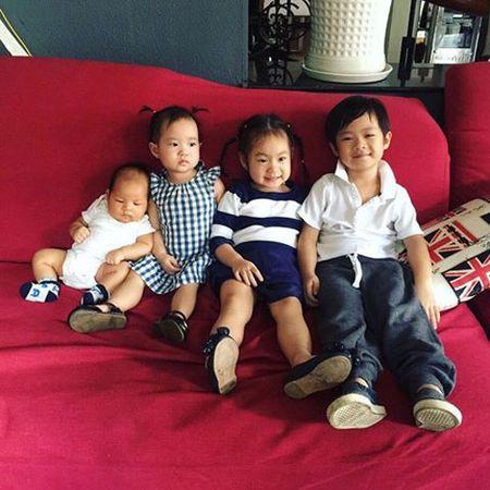 Con trai Diem Huong ngo ngac giua canh dong lua vang - Anh 15