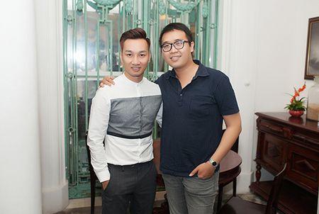 MC Thanh Trung banh bao, lich lam trong tiec tri an - Anh 4
