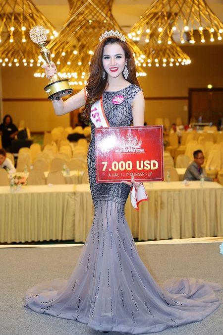 Ngoc Cham tro thanh A hau 1 Hoa hau doanh nhan The gioi nguoi Viet 2016 - Anh 2