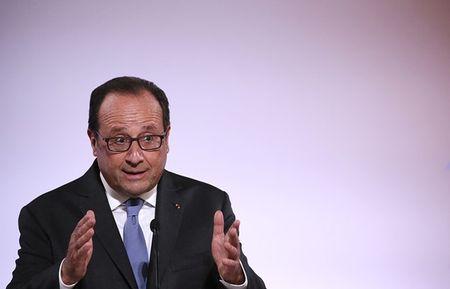 Ly do 90% dan Phap phan doi Tong thong Hollande tiep tuc tranh cu - Anh 1