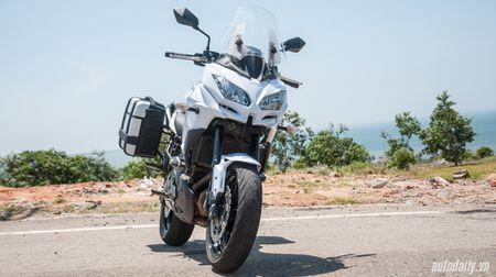 """Kawasaki Versys 650 ABS - """"Pho cap"""" sport-touring - Anh 1"""