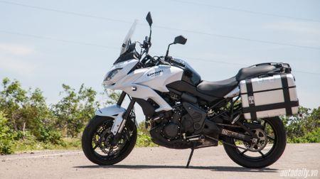 """Kawasaki Versys 650 ABS - """"Pho cap"""" sport-touring - Anh 2"""