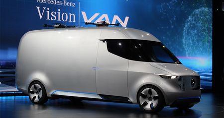 Mercedes-Benz Vision Van - tuong lai nganh giao hang - Anh 2