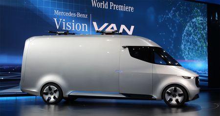 Mercedes-Benz Vision Van - tuong lai nganh giao hang - Anh 3