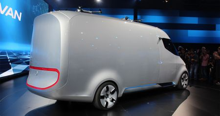 Mercedes-Benz Vision Van - tuong lai nganh giao hang - Anh 4