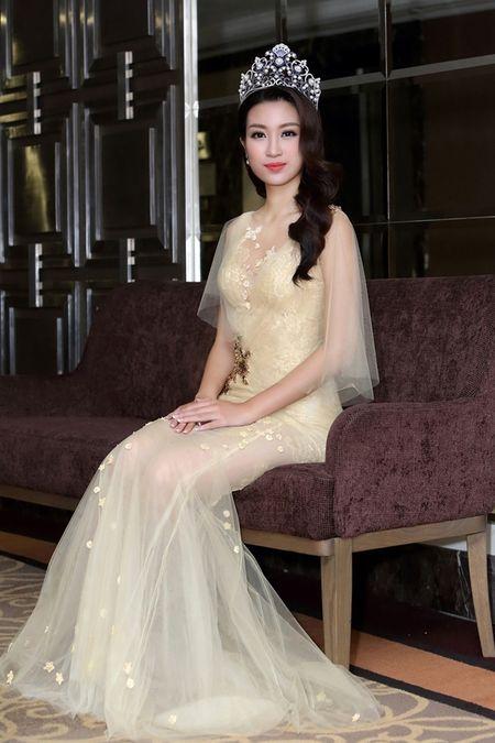 Hoa hau Do My Linh khoe nhan sac trong trang phuc cua NTK Hoang Hai - Anh 5