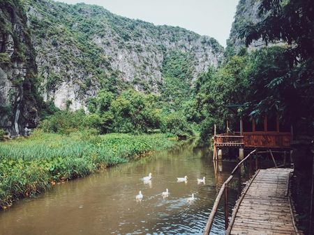5 resort hang sang gan Ha Noi 'lam ban' voi nhung canh dong - Anh 5