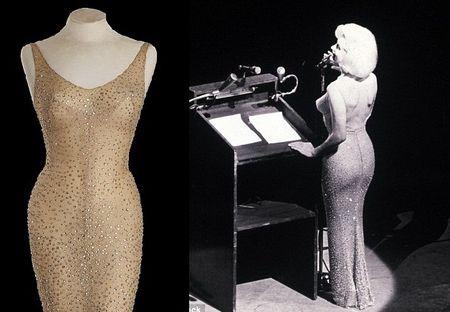 Dau gia chiec vay Marilyn Monroe mac bieu dien lan cuoi trong doi - Anh 1