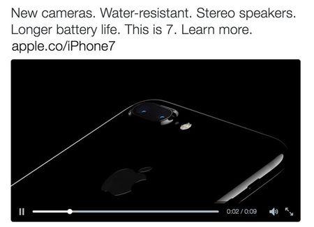 iPhone 7 chinh thuc lo dien tren tai khoan Twitter cua Apple - Anh 5