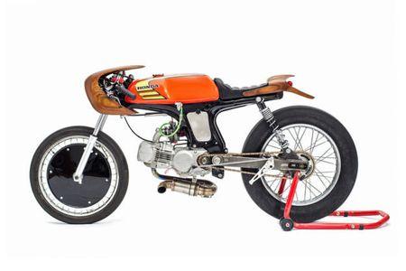 "Honda 67 do cafe racer sieu doc voi nhieu ""phu tung moc"" - Anh 1"
