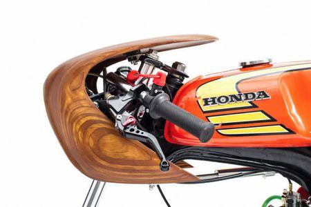 "Honda 67 do cafe racer sieu doc voi nhieu ""phu tung moc"" - Anh 5"