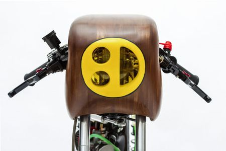 "Honda 67 do cafe racer sieu doc voi nhieu ""phu tung moc"" - Anh 6"
