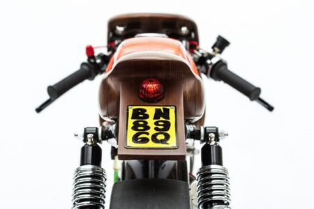"Honda 67 do cafe racer sieu doc voi nhieu ""phu tung moc"" - Anh 8"