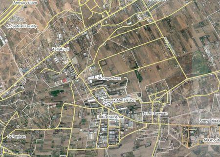 Ve binh Cong hoa Syria danh phan kich chiem doi Tal Sawwan, Dong Ghouta - Anh 1