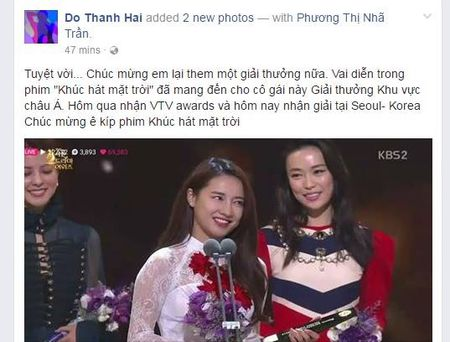 Nha Phuong duoc vinh danh la Ngoi sao chau A tai Han Quoc - Anh 2
