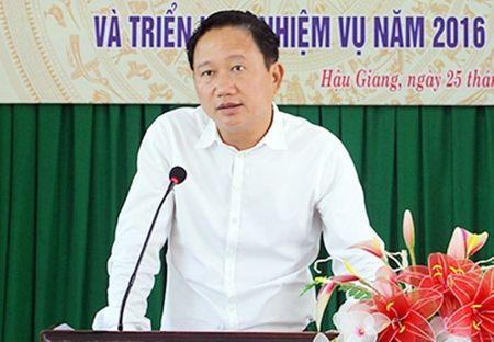 Hau Giang trieu tap ong Trinh Xuan Thanh ve viec xin ra Dang - Anh 1