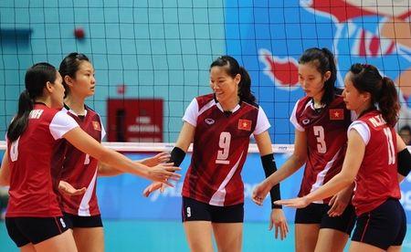 Lich thi dau chinh thuc Giai bong chuyen nu Chau A - Anh 2