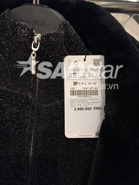 Check gia hang loat san pham hien co tai store Zara Viet Nam! - Anh 4