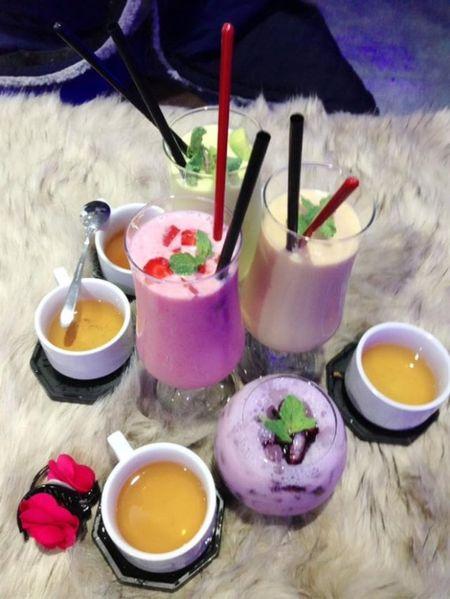 Gioi tre do xo 'check in' quan cafe bang -10 do C tai Sai Gon - Anh 11