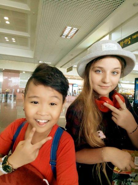 Cac thi sinh The Voice Kids da co mat o Sai Gon, hao huc chuan bi cho vong liveshow - Anh 5